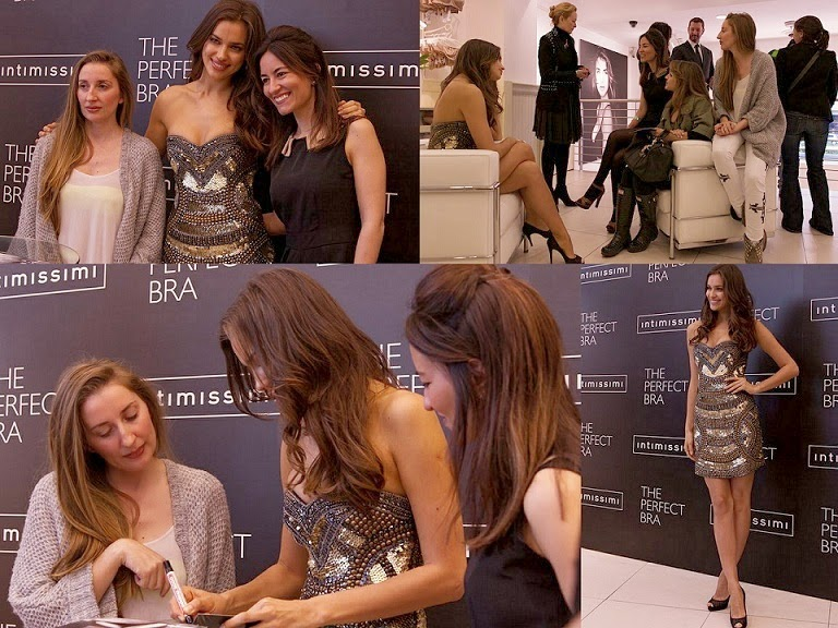 Intimissimi pressenta The Perfect Bra con Irina Shayk