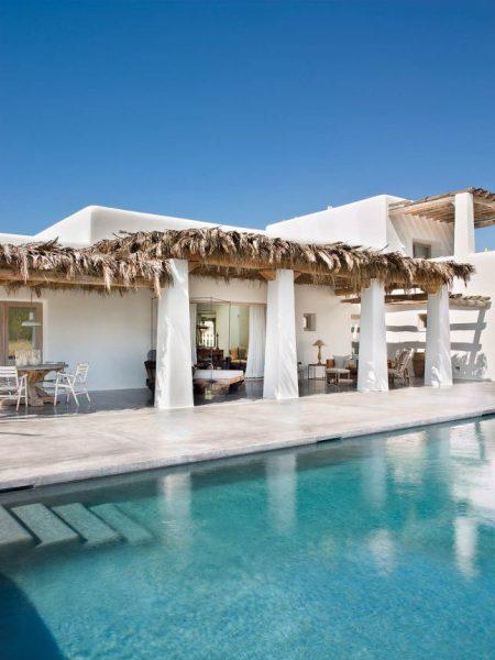 maravillosa casa de estilo mediterráneo en la isla de Ibiza