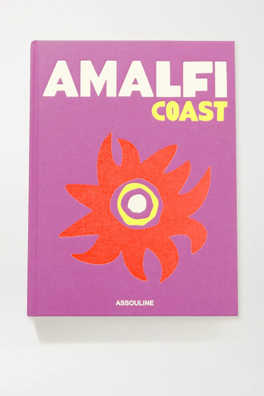 Amalfi Coast by Carlos Souza hardcover book