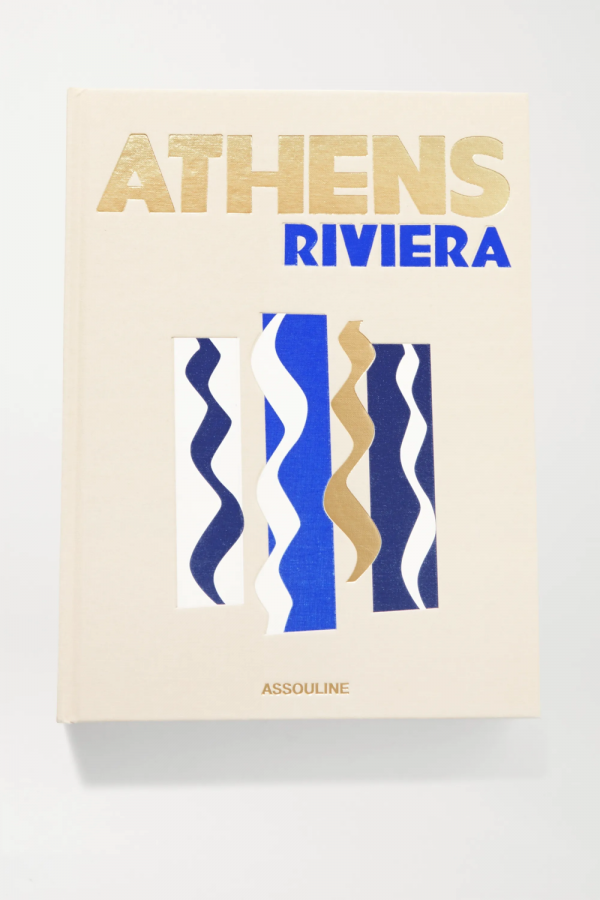 Athens Riviera by Stéphanie Artarit hardcover book