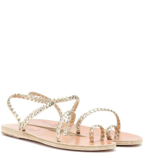Sandalias de piel Eleftheria