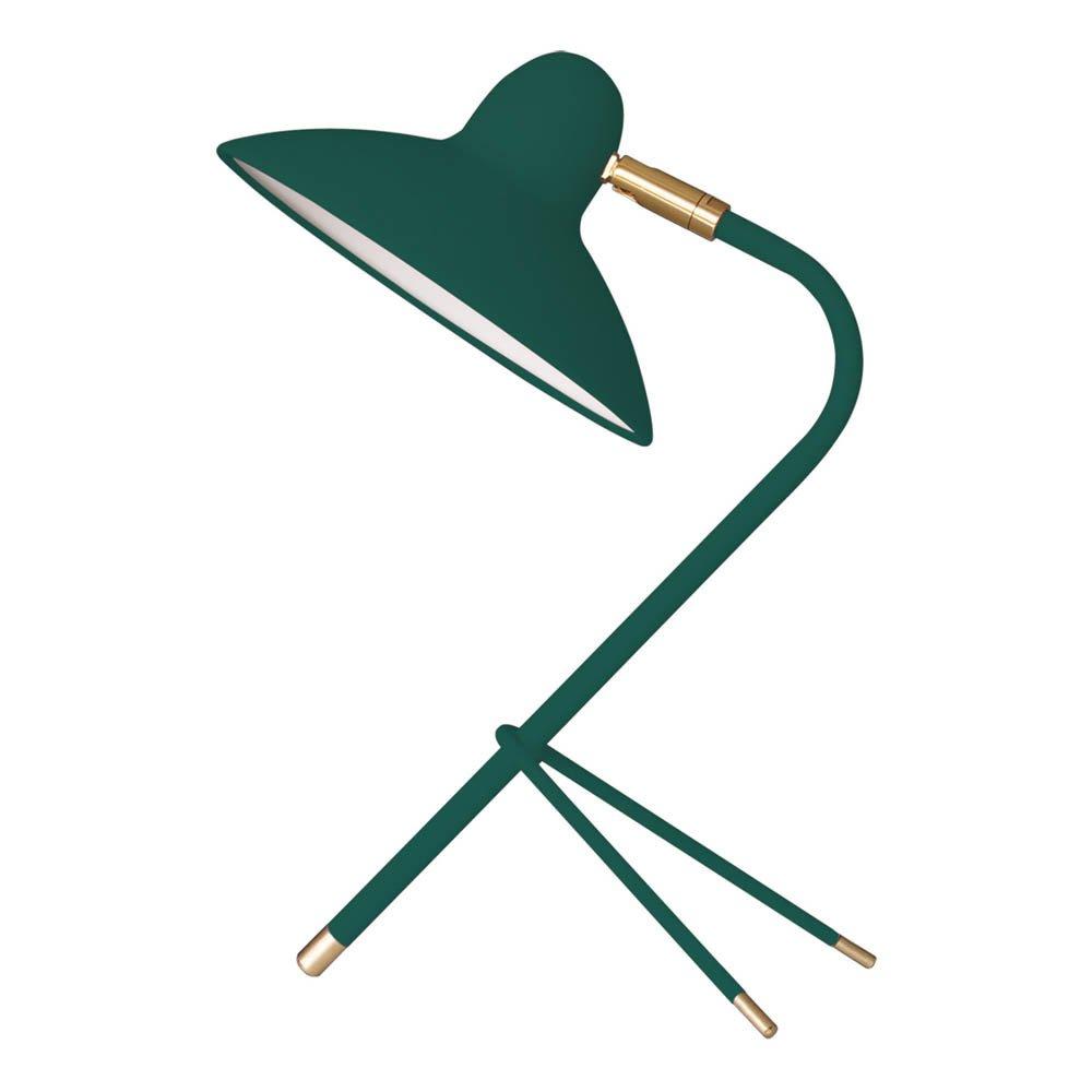 Lámpara de mesa en metal Arles Verde
