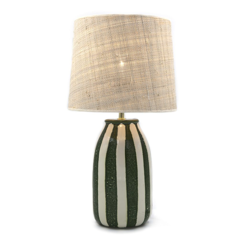 Lámpara de mesa Palmaria Verde