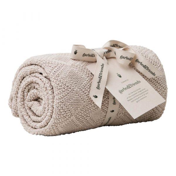 Manta en algodón Rosa de garbo&friends