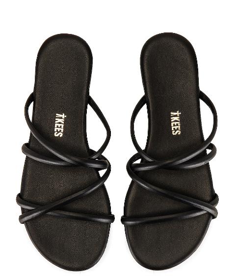 sandalias negras sloan