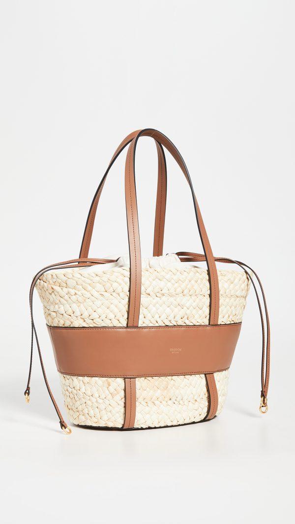 Anya Small Basket Bag