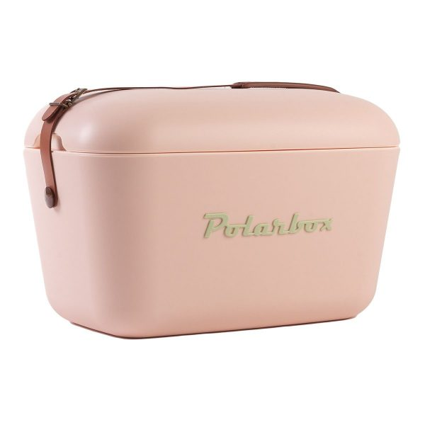 nevera portátil de polarbox rosa